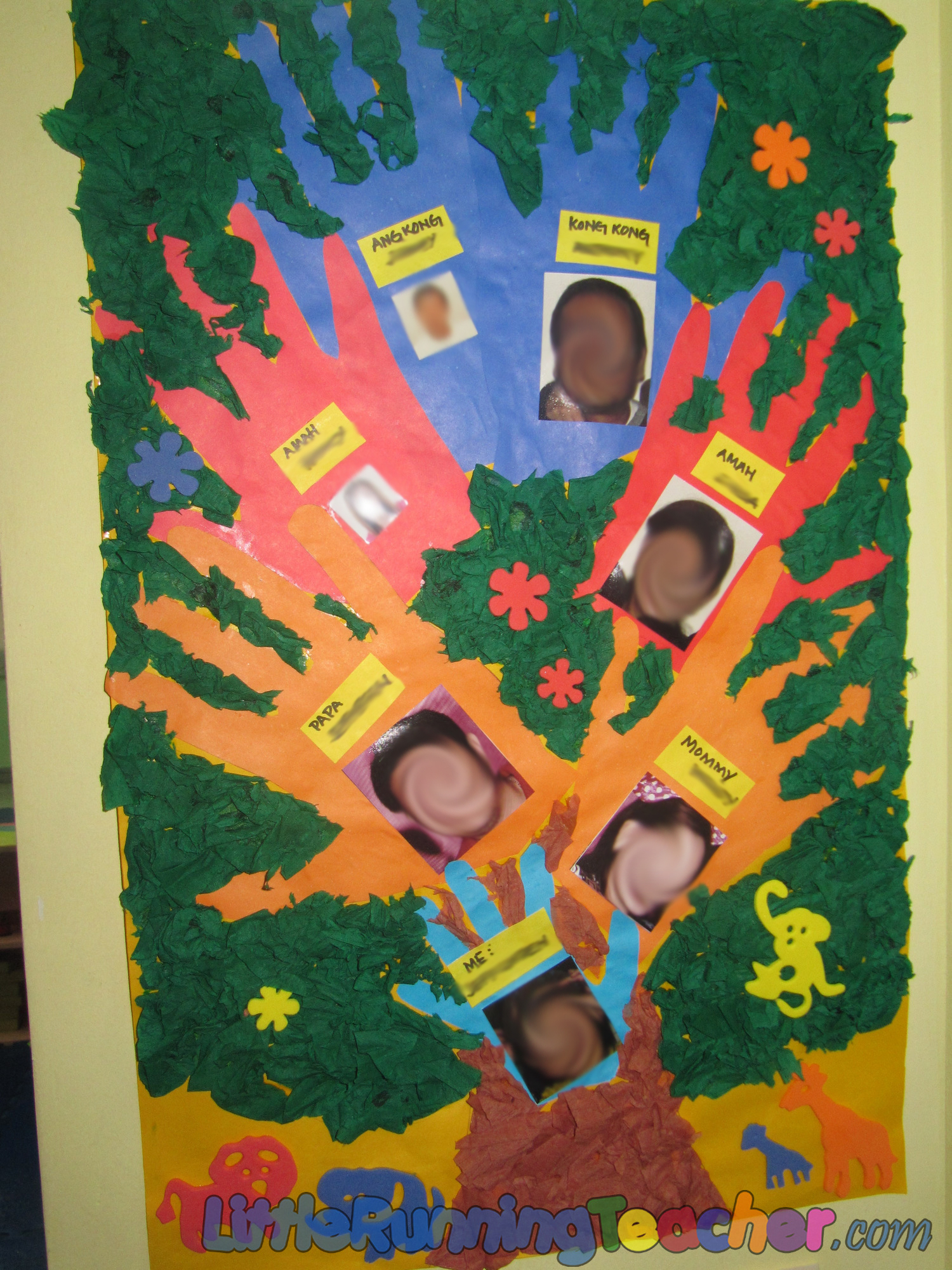 Family Tree in Preschool « Little Running Teacher