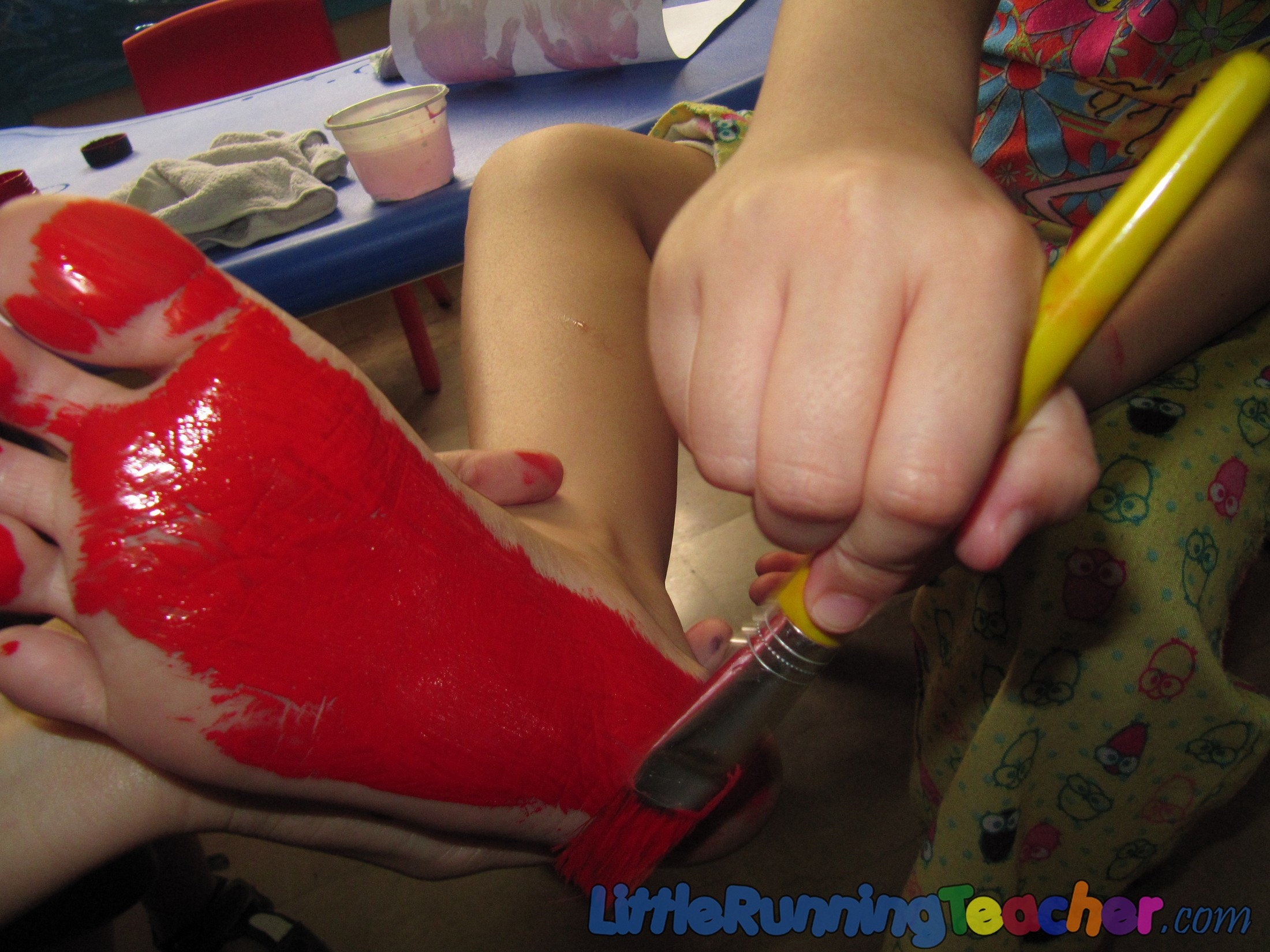 Silly Foot and Hands Lobster « Little ...