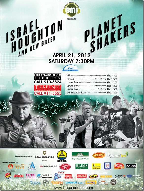 Planet Shakers and Israel Houghton