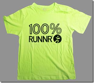 RUNNR 100% Shirt_Neon Green