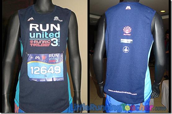 Run United 3 2012 Singlet