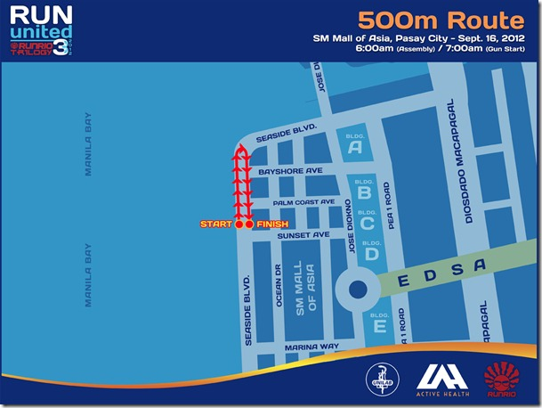 Run United 3 500m