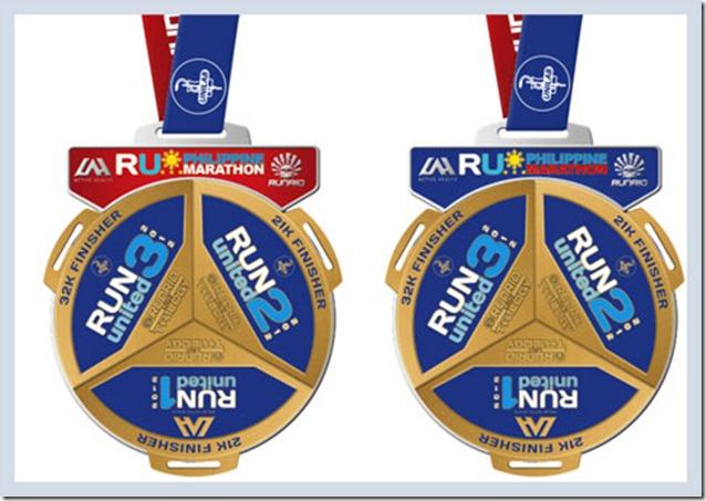 Run United Philippine Marathon Medal2