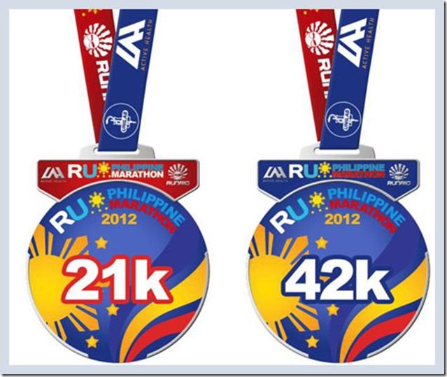 Run United Philippine Marathon Medal