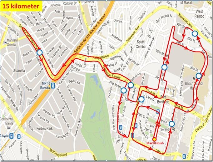 ensure to endure 15k route