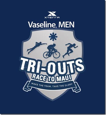 Vaseline Men XTERRA Tri Outs Race to Maui Logo