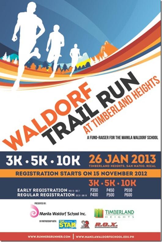 Manila Waldorf Trail Run