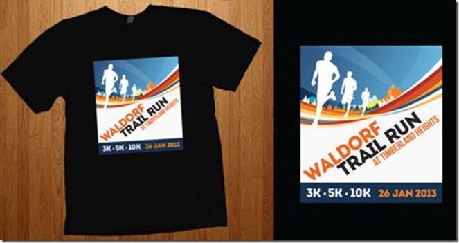 Waldorf Trail Run shirt