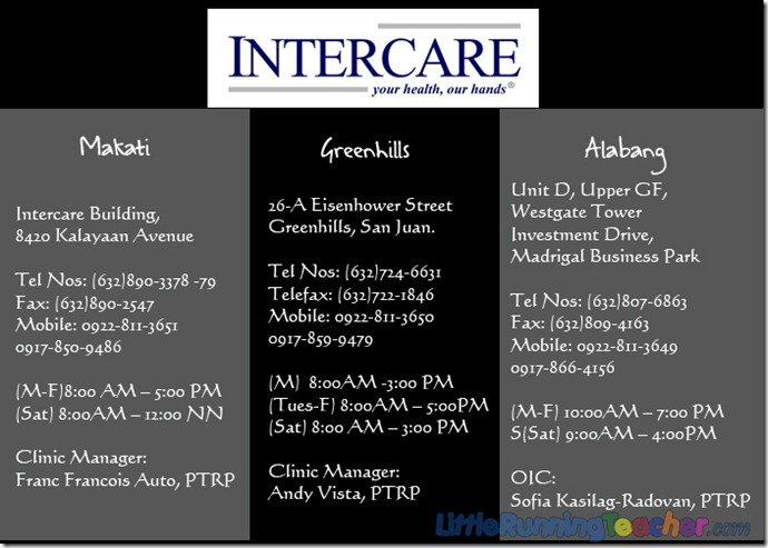 Intercare branches