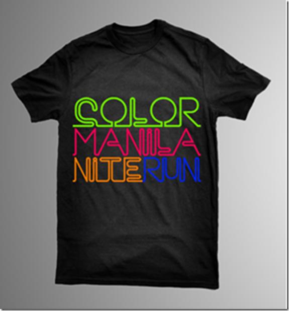 Color Manila Nite Run Shirt