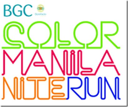Color Manila Nite Run logo 100X72