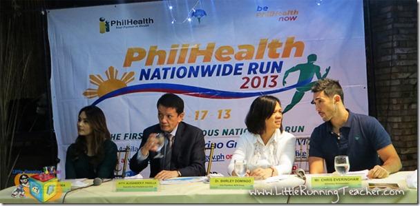 Philhealth Nationwide Run Manila Press Launch