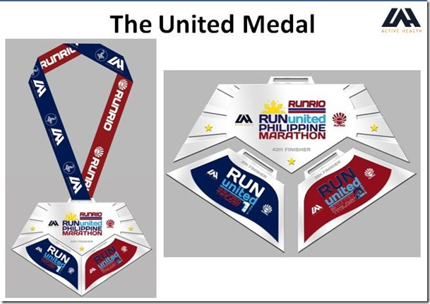 Run United Complete Medal