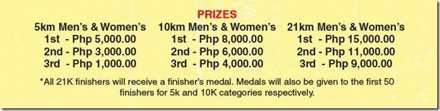Merrell Adventure Run Prizes