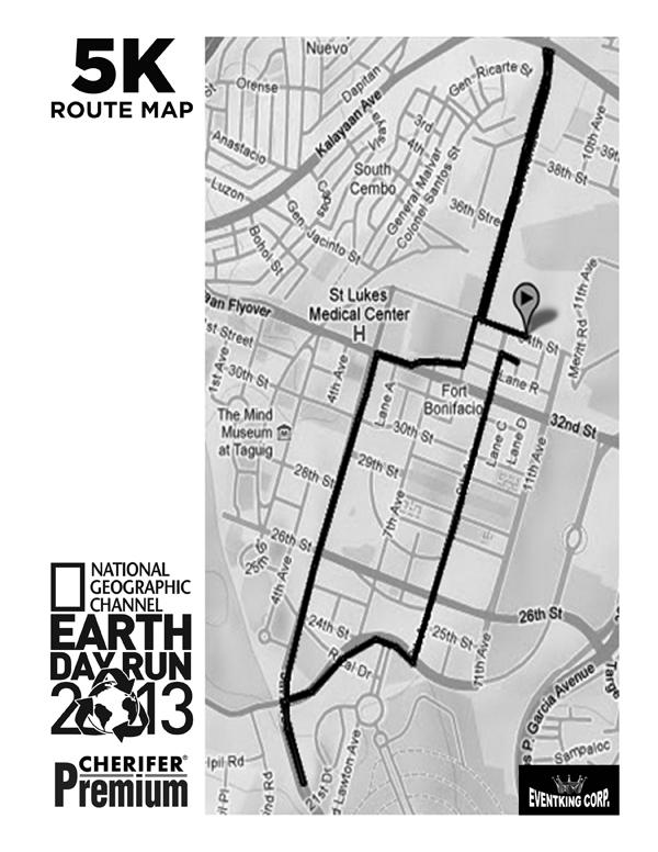 Earth Day Run 09