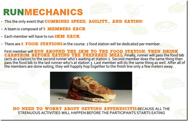 Eat and Run Mechanics