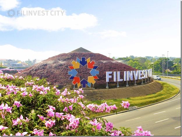 Filinvest City mound at SLEX Interchange