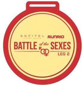 Battle of the Sexes Winner's Medal
