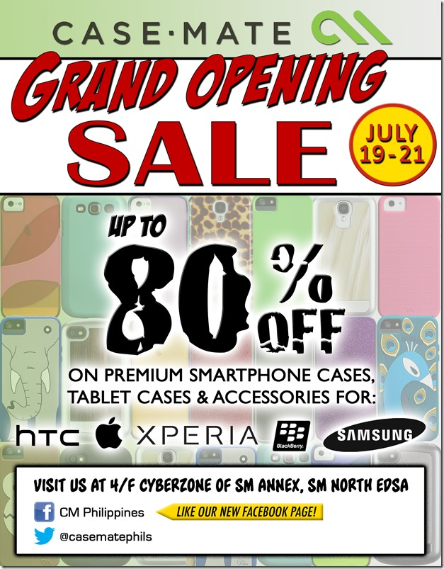 Case-Mate Grand Opening Sale