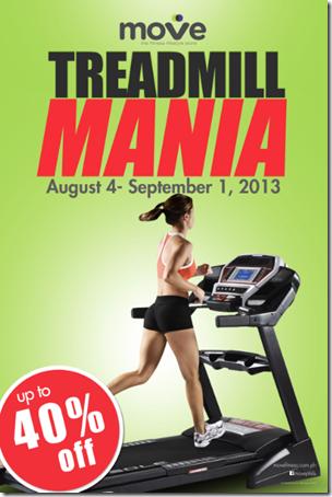 Move Treadmill Mania Poster
