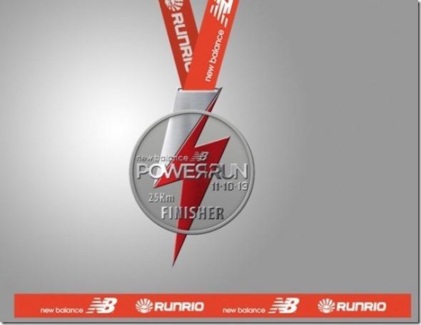 New Balance Power Run 2013 Medal