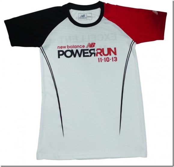 New Balance Power Run 2013 Singlet Design