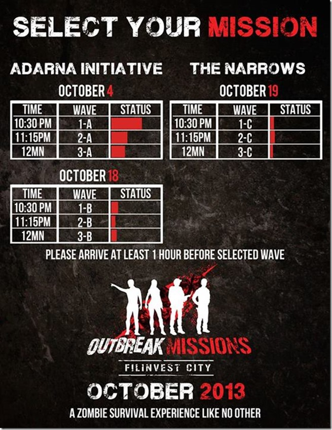 Outbreak Missions