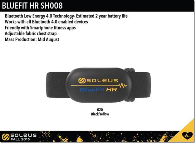 Soleus BlueFit HR SH008