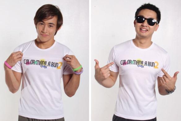 Color Manila Run 2 Singlet Design
