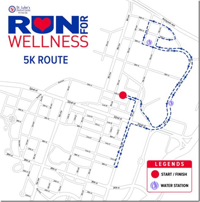 St. Lukes Run for Wellness 5k route (01)