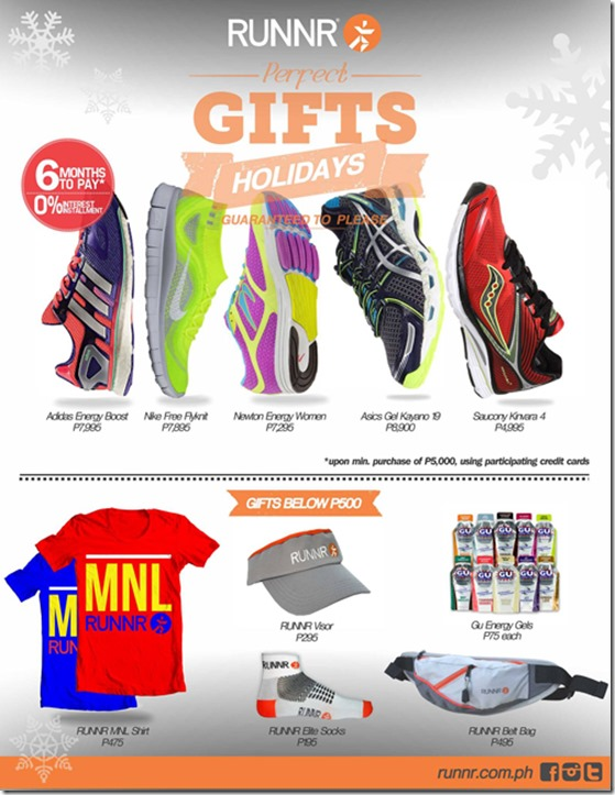 RUNNR PERFECT GIFTS
