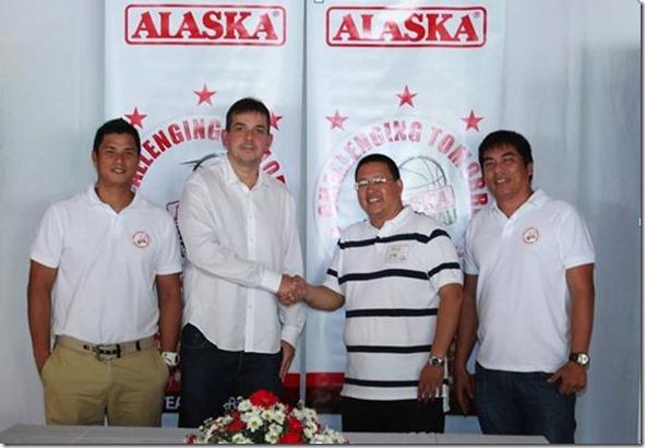 Alaska Milk and Cebu Youth Basketball League