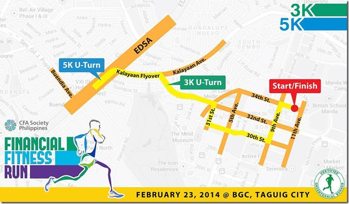 Financial Fitness Run Race Route (08)