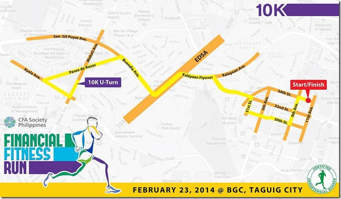 Financial Fitness Run Race Route (09)
