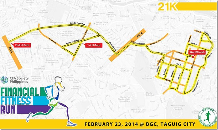 Financial Fitness Run Race Route (10)