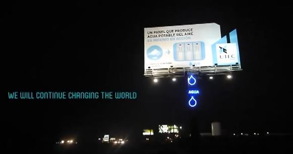 Billboard-changes-air-to-water