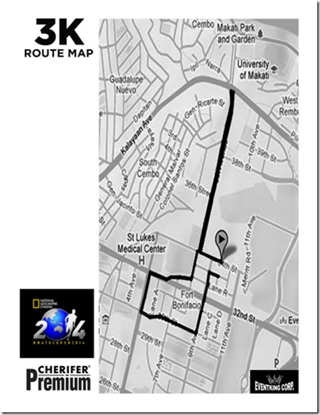 Natgeo-run-2014-3k-race-route