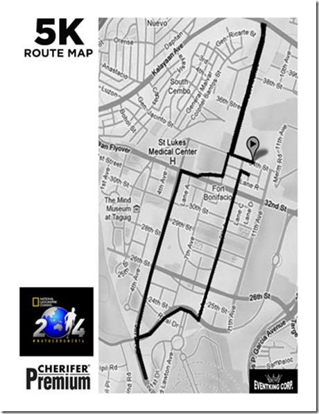 Natgeo-run-2014-5k-race-route