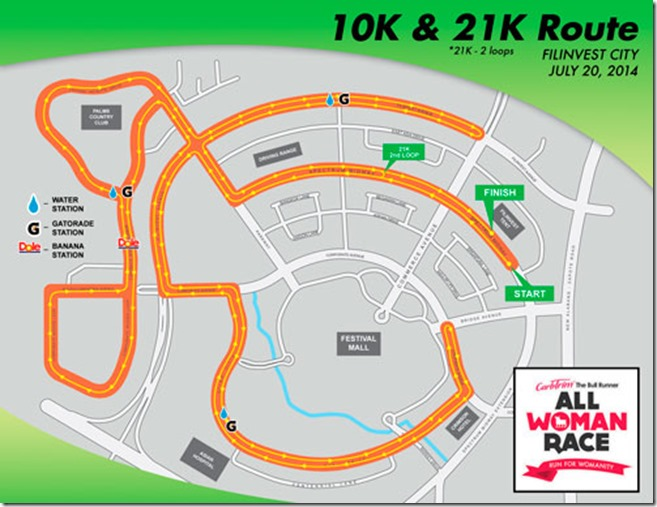 All Woman Race - 10k, 21k