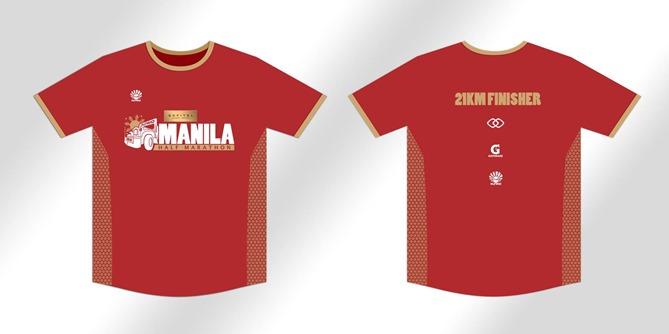 Sofitel Manila Half Marathon finisher shirt