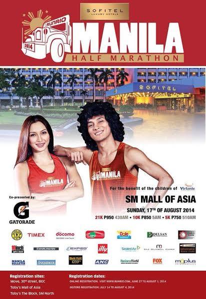 Sofitel Manila Half Marathon poster