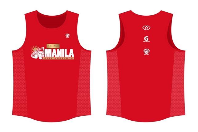 Sofitel Manila Half Marathon singlet design