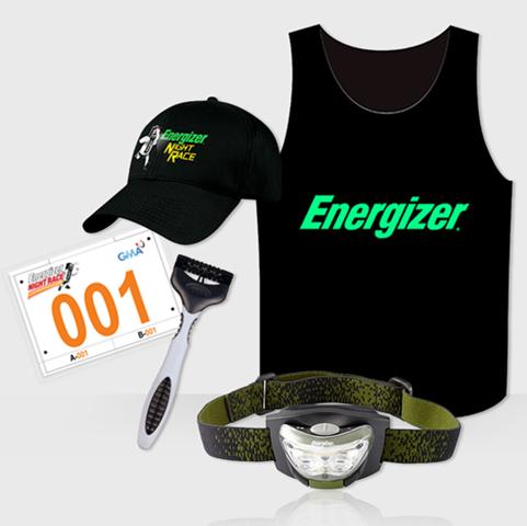 Energizer Night Race - Race Kit