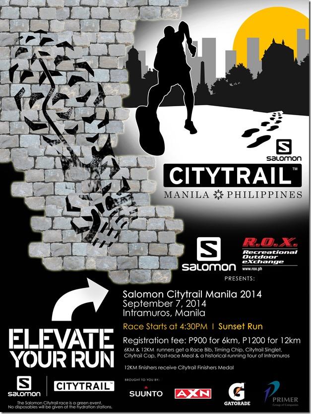 Salomon Citytrail Poster