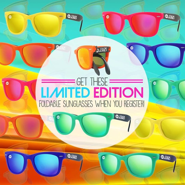 Color-manila-run-2015-foldable-sunglasses