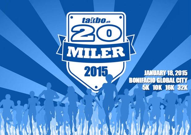 takbo.ph 20 mile run