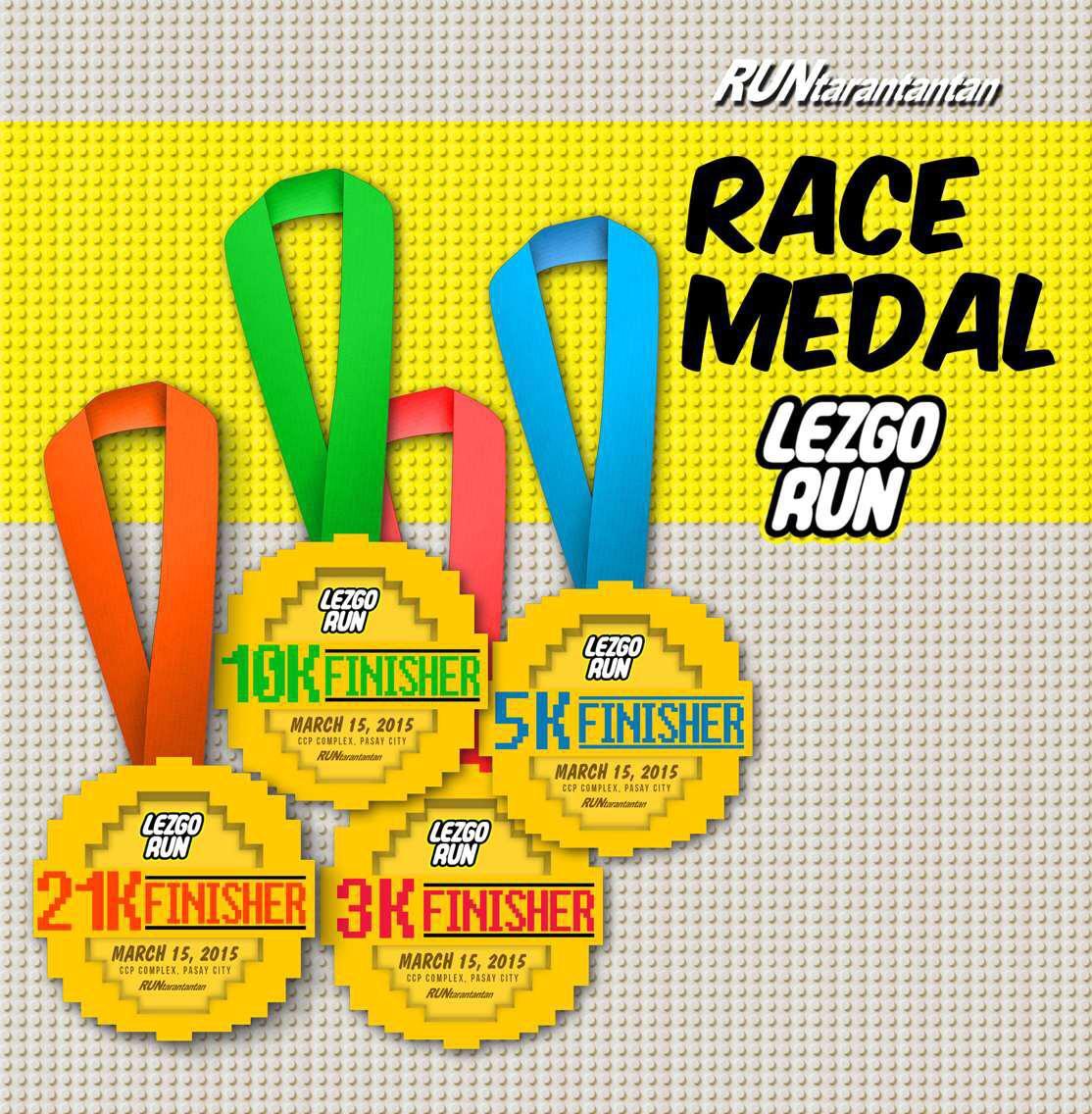 LezGo-Run-Medal