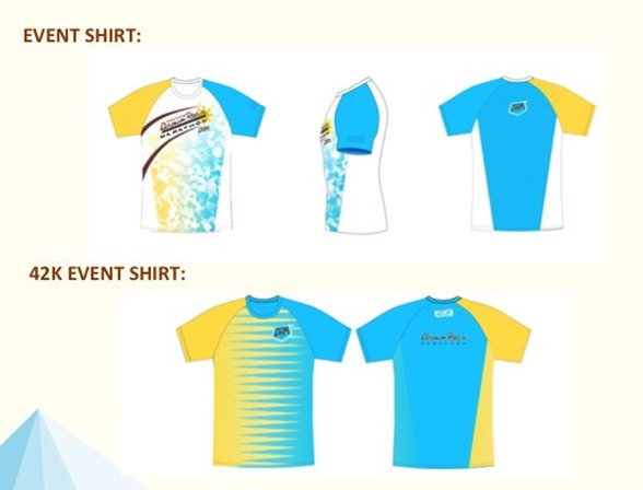 Brown Race Marathon Event Shirt