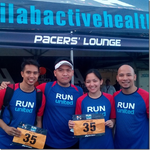 Run United 1 Pacers 2