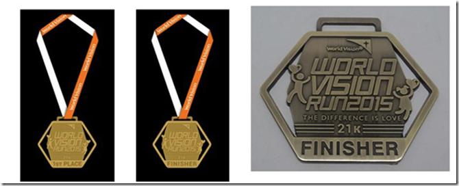 World-Vision-Run-Finishers-Medal